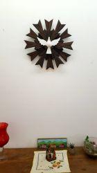 Divino Espírito Santo De Madeira - 43  x 43  Cm com Raios  Duplos